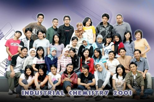 Foto barudak Kimia Industri A 2003